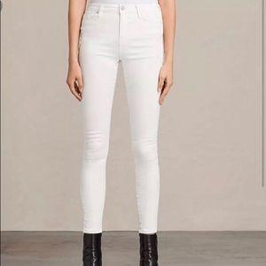 ALLSAINTS Ashby Low rise Skinny Fit Jeans SZ- W26